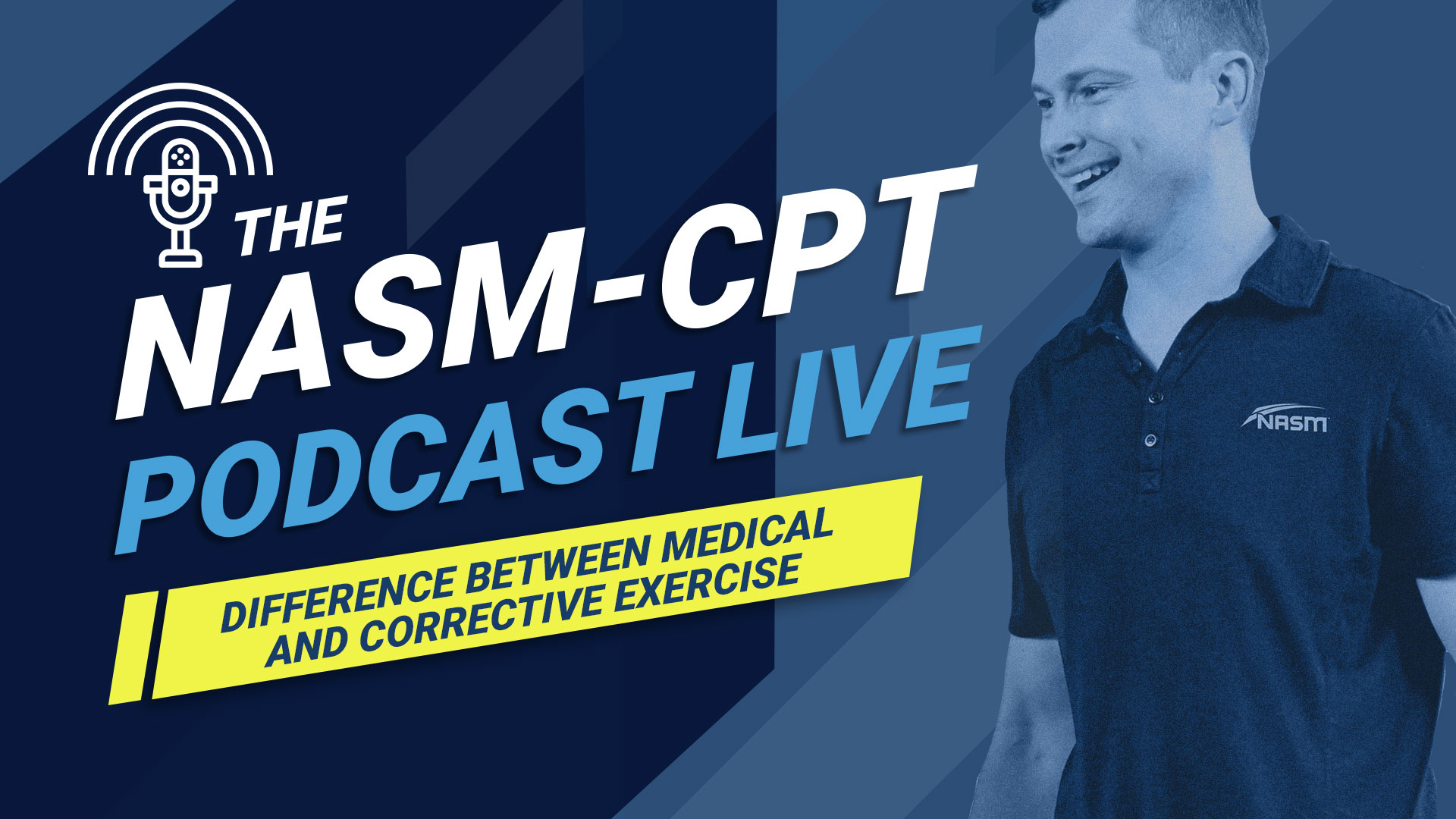 Clenbuterolfr-CPT podcast on corrective versus medical exercise