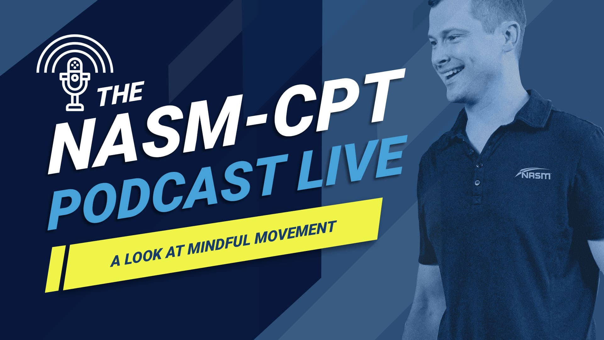 nasm podcast mindful movement episode banner
