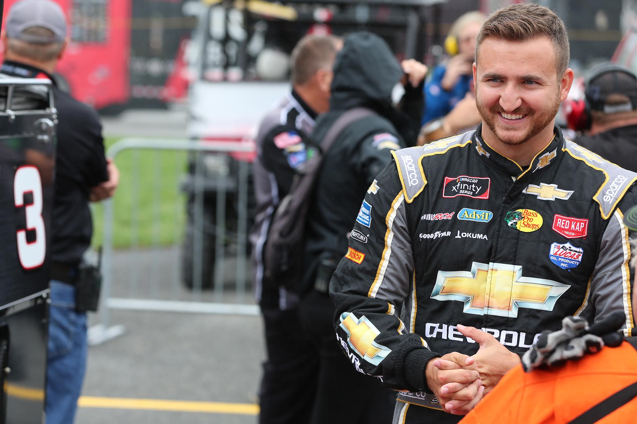 Racecar driver Shane Lee